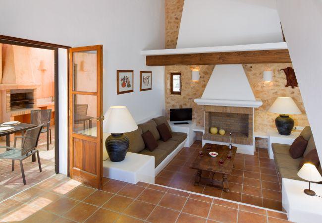Villa en Sant Francesc de Formentera - Amplia y moderna casa con porche, barbacoa y solarium-SantFrancescCNV4